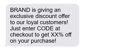 exclusive discount offer
